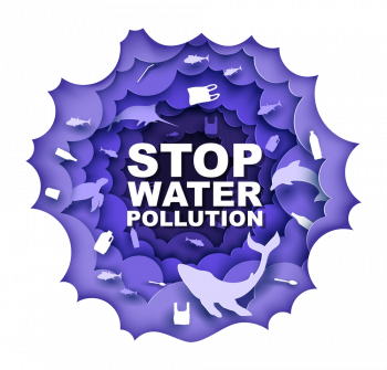 Stop Water Pollution Poster Design Vector Imgenes Png Wave Colorpng com